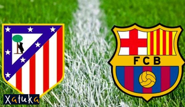 atletico barcelona online gratis