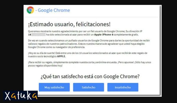 google chrome noregala movil